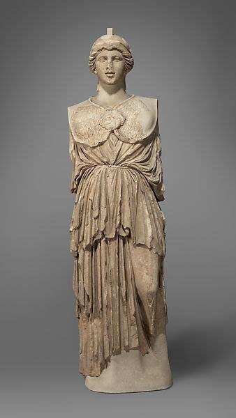 statue  athena parthenos greek hellenistic  met