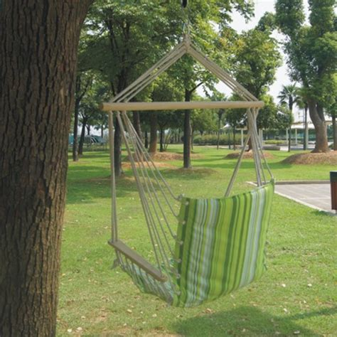 garden swing hammock ipree outdoor canvas swing hammock leisure hanging chair
