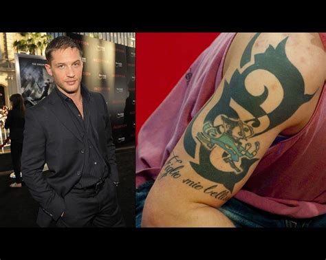 tom hardy any guy w a fighting irish tattoo is alright