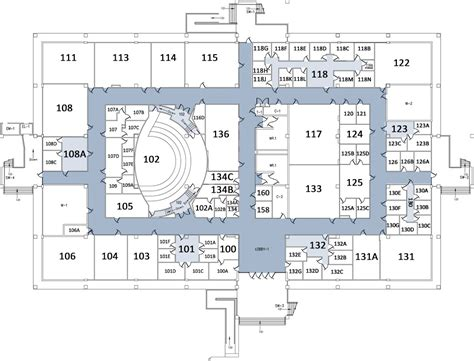 map floor plan 1st floor california state university stanislaus