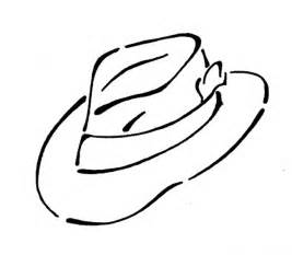 hat coloring page caps and hats coloring part 3