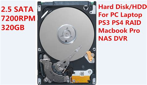 Hardisk Ps3 250 Gb black 320 gb hdd 2 5 quot sata 7200 rpm drive for sony ps4 macbook macbook p ebay