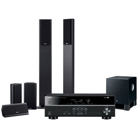 yamaha yht3910b 5 1ch home theatre system appliances