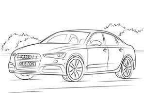 Kolorowanka Audi A6 Kolorowanki Dla Dzieci Do Druku Vw Coloring Page
