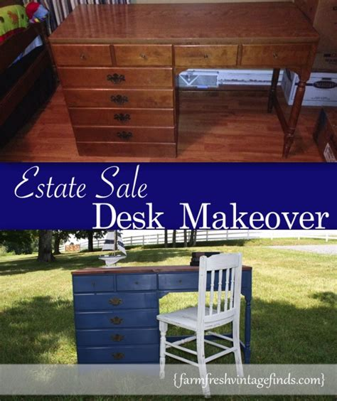 farm fresh service desk vintage blue desk a final look farm fresh vintage finds