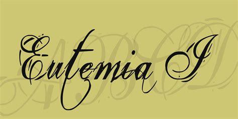 eutemia i font 183 1001 fonts