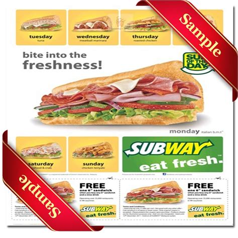printable subway coupons july 2015 73 best free printable coupons images on pinterest