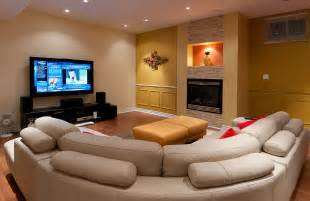 Basement Family Room Ideas Finished Basement Family Room The Home Touches