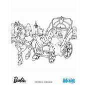 Barbie Horse Coloring Pages  Free Large Images
