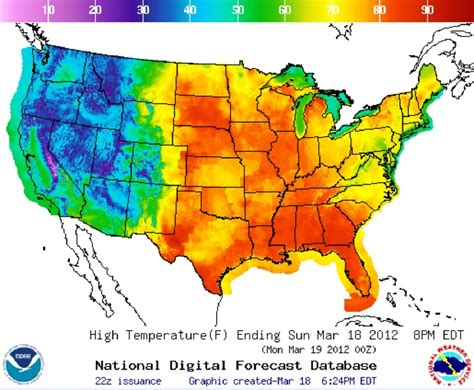 weather map of us in march cherry blossoms boxes bmws and climate change