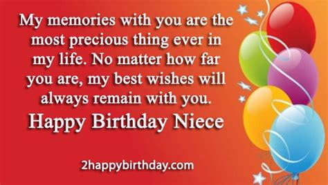 Happy Birthday To My Beautiful Niece Quotes 25 Happy Birthday Niece Sweet Quotes Messages