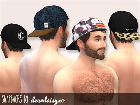 sims 4 male cc deardaisyxo s snapbacks men cc pinterest sims sims