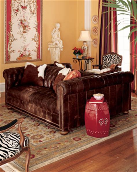 double sided couch double sided sofa houzz amusing design old hickory tannery leather double sided sofa