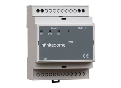 module interface between infinitedome ethernet home