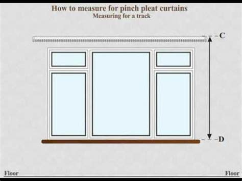 how to measure for pinch pleat curtains how to measure for made to measure pinch pleat curtains