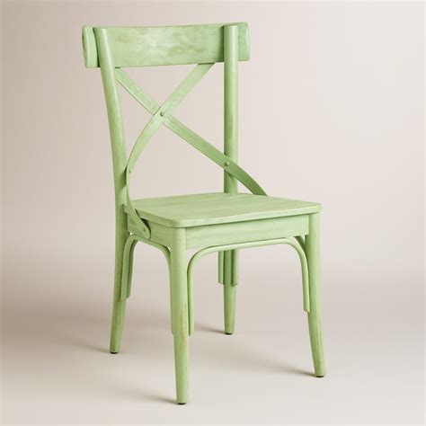 Green Bistro Chairs Light Green Bistro Dining Chairs Set Of 2 World Market