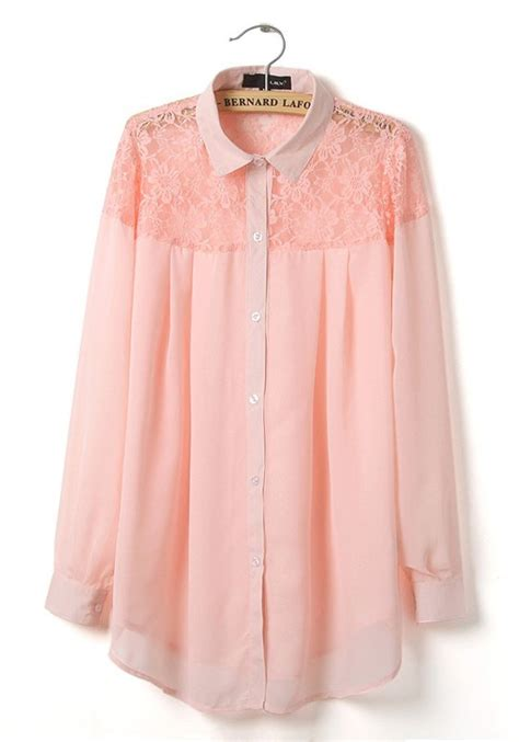 Blouse Top Pink pink blouse top blouse with