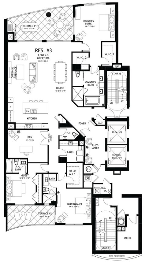 floor plan condo 1000 images about home floorplans condos on pinterest