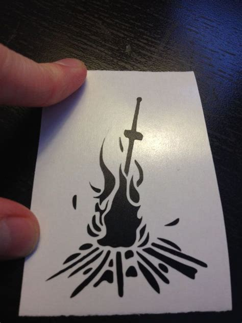 bonfire tattoo souls bonfire design tattoos