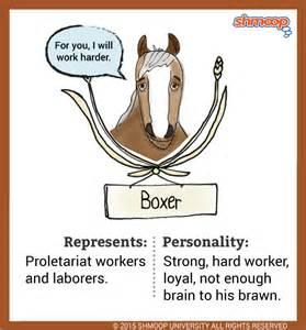 Boxer Animal Farm Essay by Boxer A In Animal Farm
