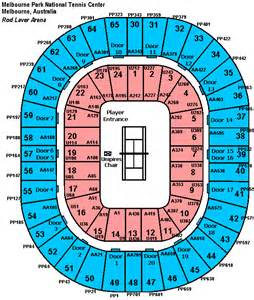 Rod Laver Floor Plan by Tennis Tickets Australian Open Tennis Tickets Rod Laver