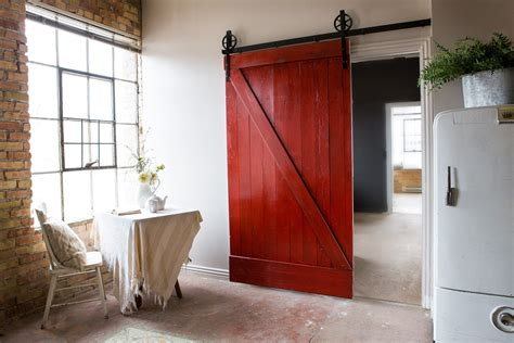 Vintage Barn Doors Vintage Industrial Spoked European Sliding Barn Door Closet