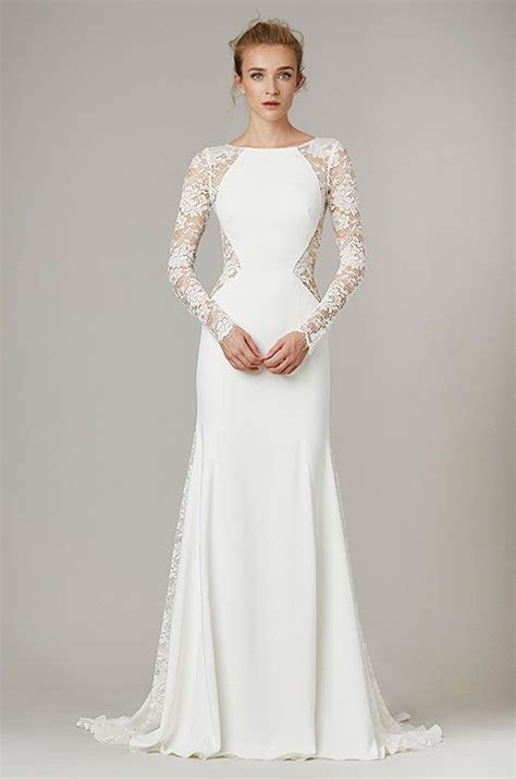 Silk Wedding Dresses by Silk Wedding Dresses And Lace Sleeves On
