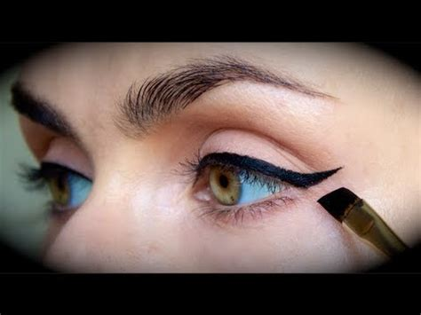 easy eyeliner tutorial youtube quick easy perfect eyeliner tutorial youtube
