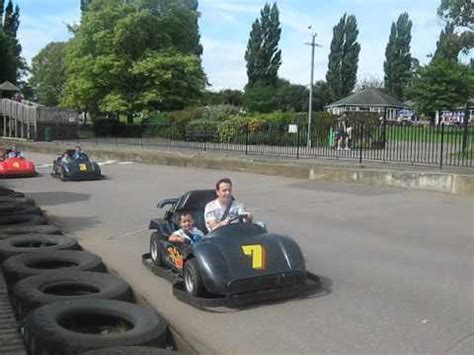 theme park kettering go karts at wicksteed park youtube