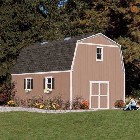 Hartland Sheds by Summit 16ft X 16ft Heartland Industries