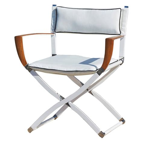 Director Chairs For Sale by Gosling Marine Director S Chair For Sale At 1stdibs