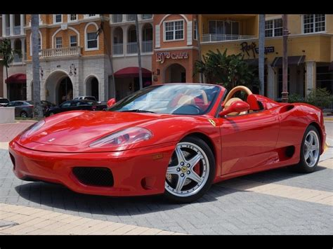 2002 360 spider for sale