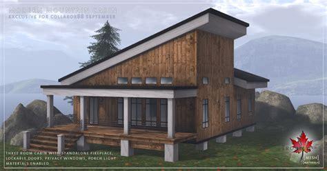 Modern Cabin Kits by Modern Mountain Cabin And Dardon Fireplace Patio Kit