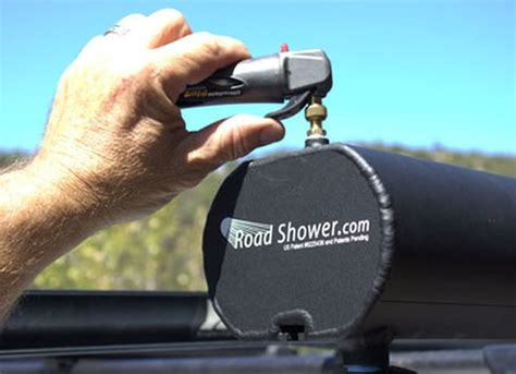 Road Shower by Road Shower Solves Your Outdoor Bathing And Woes