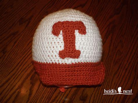 heidi s nest crocheted baseball hat