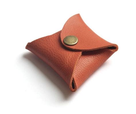Origami Change Purse - origami leather coin purse carry