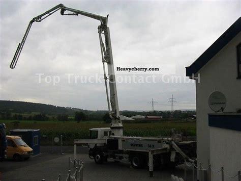 swing shutter concrete pump scania 94c310 with 6x4 kvm 34x concrete pump 34m swing