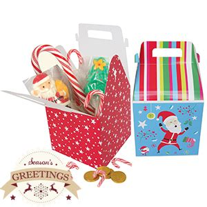 buy christmas gift boxes case of 48 at home bargains