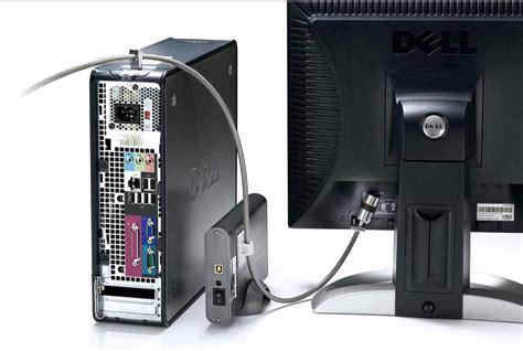 tv lock security kit monitor kensington desktop pc peripherals monitor tft lcd