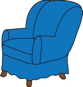 Armchair Clipart Arm Chair Clipart Image Clip Art Illustration Of A Blue