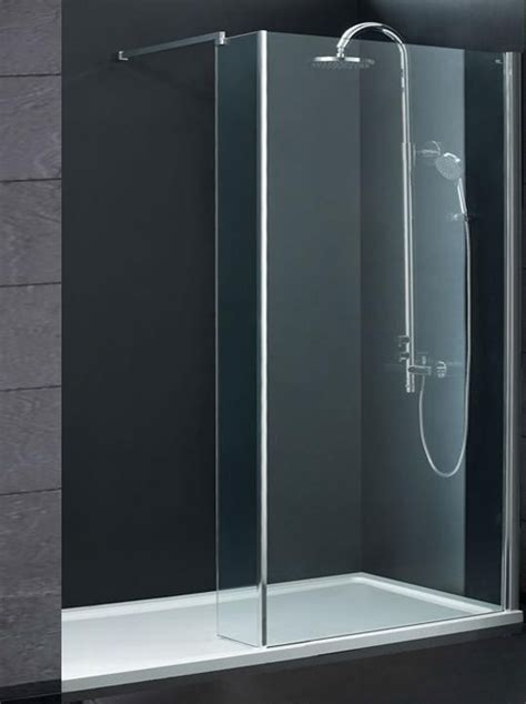 Walk In Shower Enclosures With Tray by Indi 1600 X 900 8mm Walk In Shower Enclosure Inc Tray And