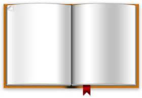 open book template open blank book psd template