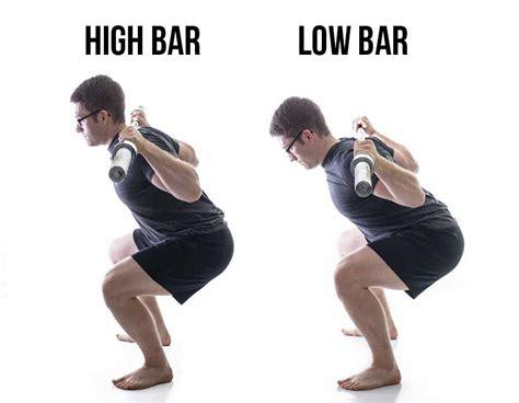 Bar Vs Bar Low Bar Vs High Bar Squats
