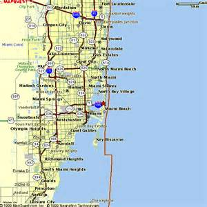 Map Of Miami Area by Miami Beach Area Map Quotes
