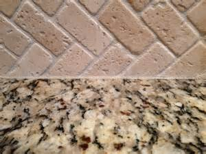 How To Put Up Tile Backsplash In Kitchen Kitchen Counters How To Caulk Stone Backsplash To