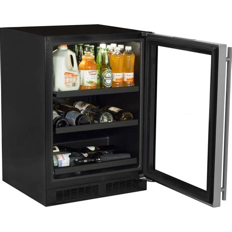 Xo Home Design Center ml24bcg1rs marvel 24 quot undercounter wine and beverage center