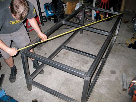 how to build a welding bench how to build a welding table