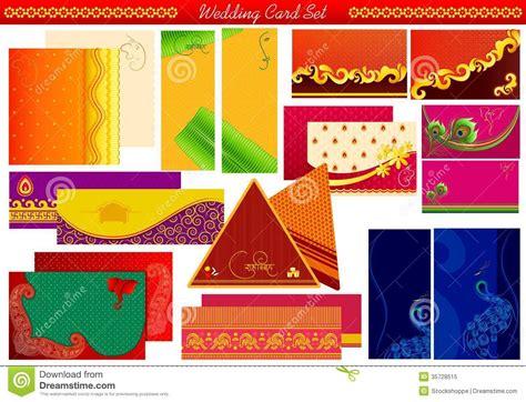 clipart for hindu wedding invitations indian wedding invitation card stock vector image 35728515