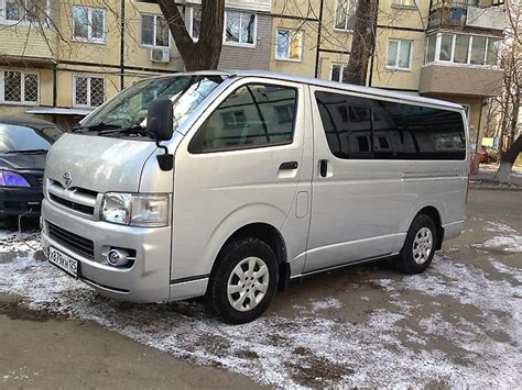 toyota hiace 2005 model toyota hiace 2005 reviews prices ratings with various