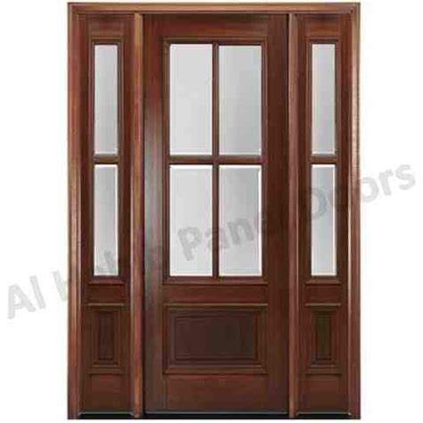 Wood Door With Glass Panel Ash Wooden Glass Door Hpd544 Glass Panel Doors Al Habib Panel Doors